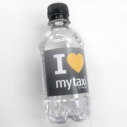 Botella personalizada para convenciones de venta