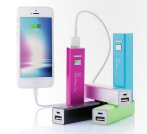 Batería de móvil personalizable para empresas