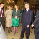 Inauguración de una exposición con autoridades