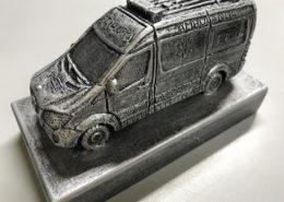 Escultura ambulancia