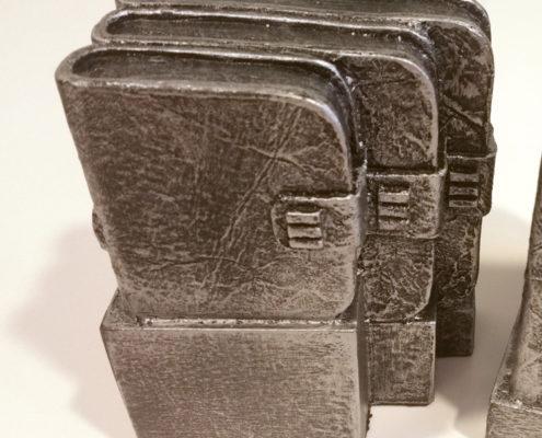 Escultura aniversario empresa - Vista lateral