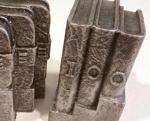Escultura aniversario empresa - Detalle