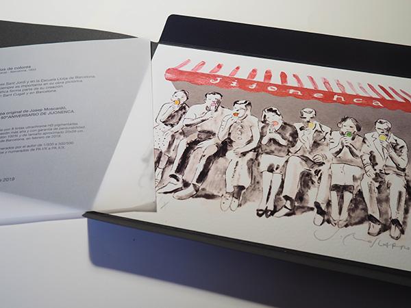 Serigrafía 50 años la Jijonenca