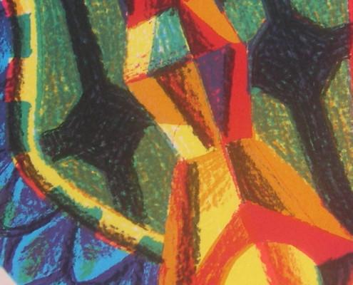 Ilustración con una imagen inspirada en la Sagrada Familia de Gaudí