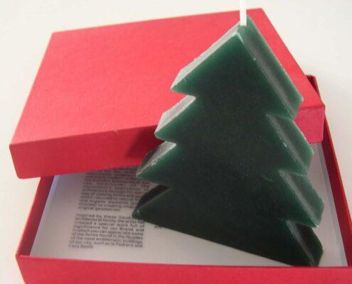 vela como regalo de navidad de empresa