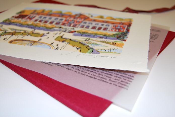 Edición de serigrafías por encargo