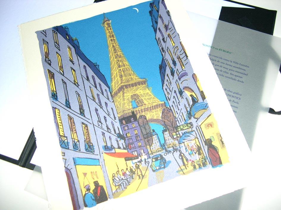 Serigrafía Paris